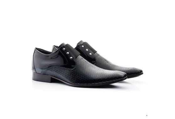 Sapato Masculino Envernizado Preto