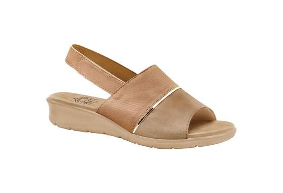 Sandália com Velcro para Esporão, Fascite e Joanete - Antique