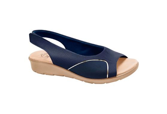 Sandália para Joanete - Mini Relax Eclipse / Lycra Azul