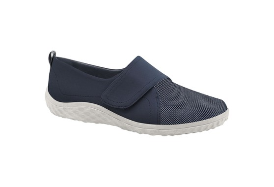 Sapatilha com Velcro Feminina - Azul