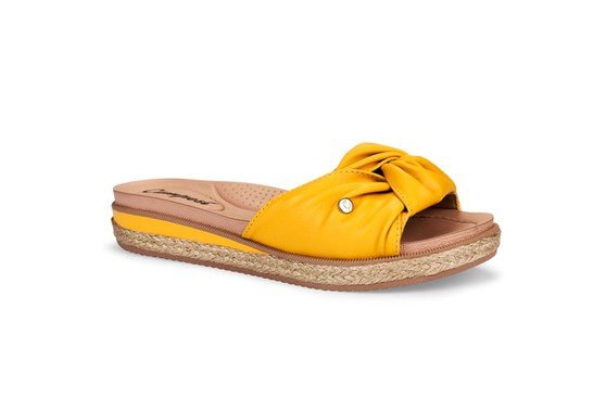 Tamanquinho Confortável - Amarelo
