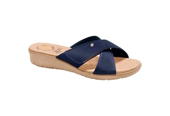Tamanco Confort Esporão e Fascite com Velcro - Azul
