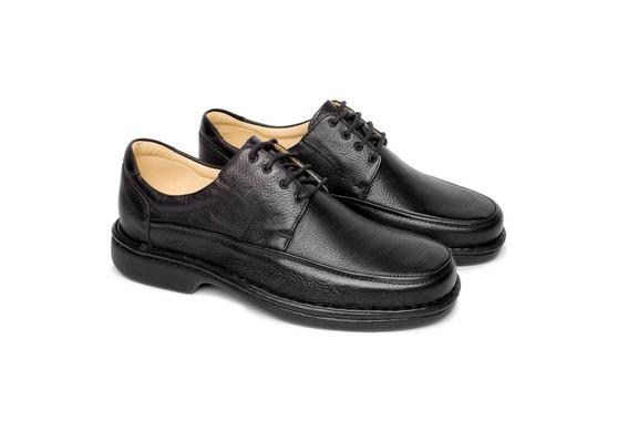 Sapato Masculino Confortável - Preto