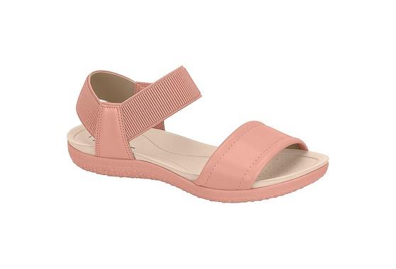 Sandália para Esporão e Fascite com Elástico - Light Blush
