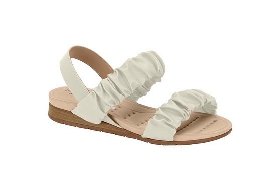Sandália Confortável para Esporão - Branco