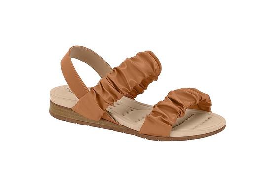 Sandália Confortável para Esporão - Camel