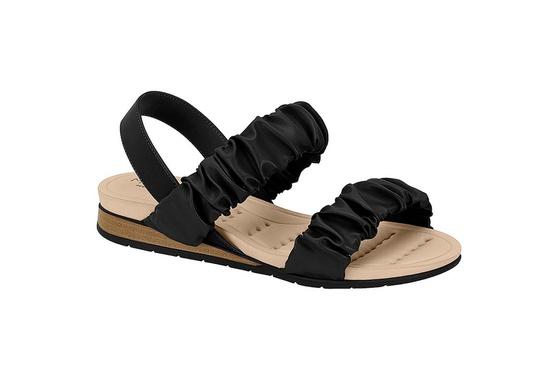 Sandália Confortável para Esporão - Preto