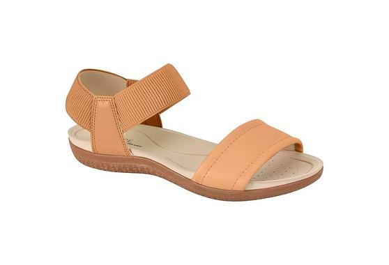 Sandália para Esporão e Fascite com Elástico - Areia