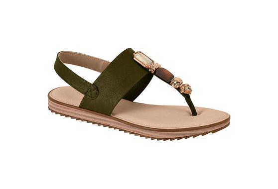 Sandália Confortável - Verde
