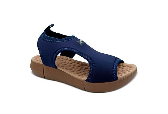 Sandália para Esporão e Fascite com Massageador - Azul