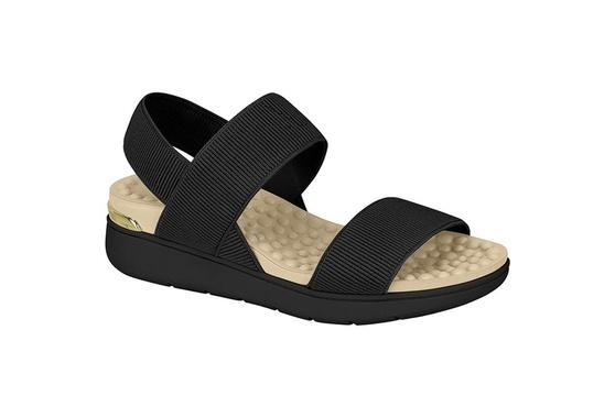 Sandália para Esporão e Fascite - Preto
