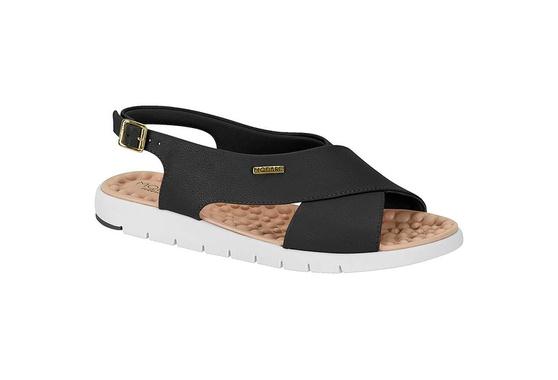 Sandália para Esporão e Fascite - Preta