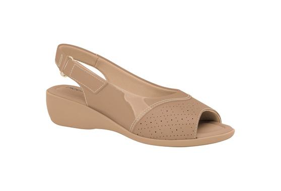 Sandália Esporão e Fascite com Velcro - Areia