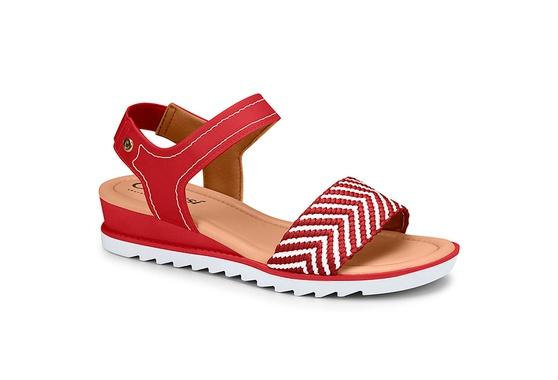 Sandália Esporão e Fascite - Vermelha