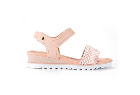 Sandália Confort Feminina - Pink