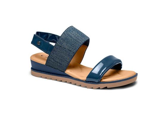 Sandália para Esporão e Fascite - Marinho