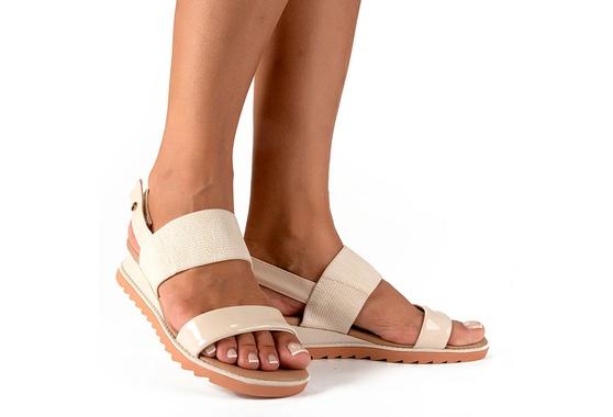 Sandália para Esporão e Fascite - Baunilha