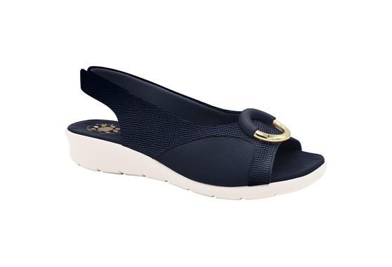 Sandália c/ Velcro para Joanete - Azul