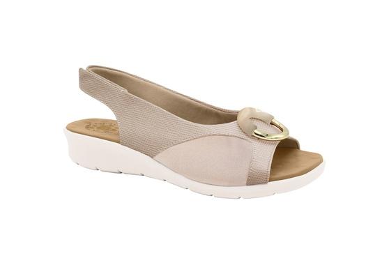 Sandália c/ Velcro para Joanete - Bistro
