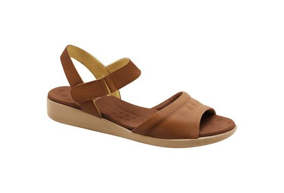 Sandália para Fascite Plantar - Caramelo