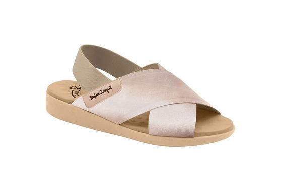 Sandália para Senhoras Esporão e Fascite - Ivory