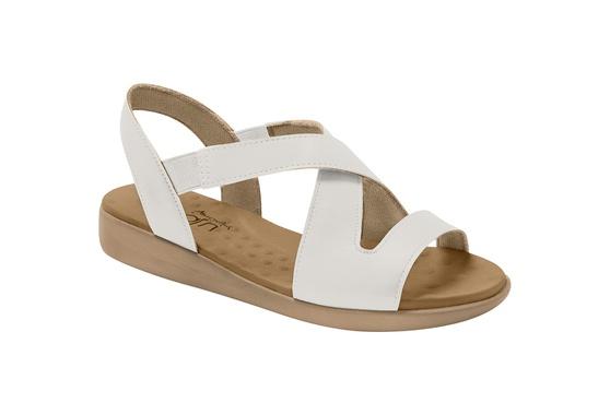 Sandália para Esporão e Fascite - Branca