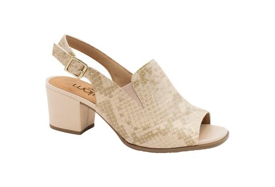 Sandália Ankle Boot Confortável - Suotiura Bege