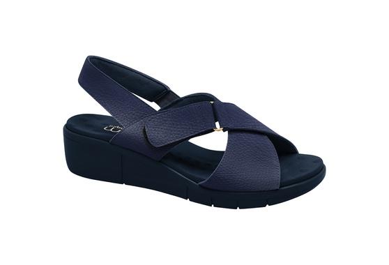 Sandália Esporão e Fascite com Velcro - Navy / Sola Azul