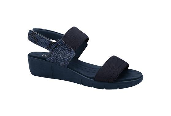 Sandália Esporão e Fascite com Velcro - Azul