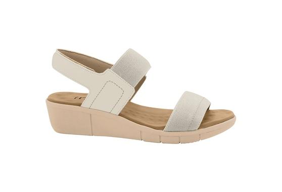 Sandália Esporão e Fascite com Velcro - Off White
