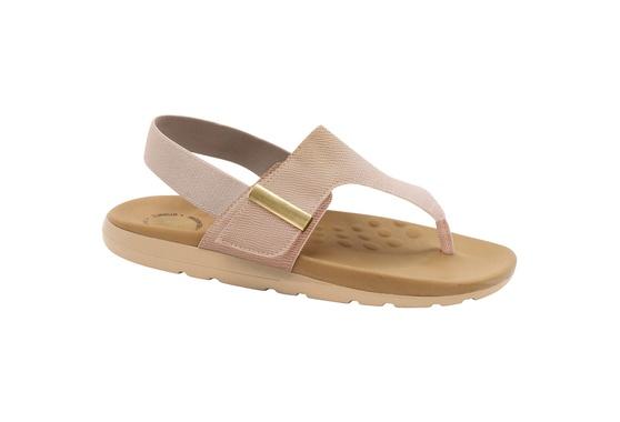 Sandália para Dores nos Pés - Bege