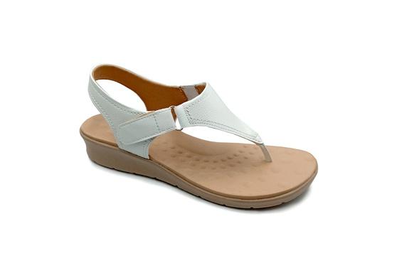 Sandália Especial para Esporão e Fascite - Branco