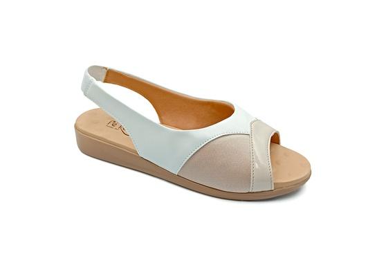 Sandália para Joanete, Fascite e Esporão - Off White