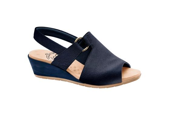 Sandália Comfort - Azul