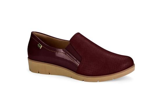 Sapato Casual para Esporão e Fascite Plantar - Rubro