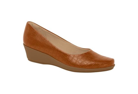 Sapato Feminino para Esporão de Calcâneo - Ocre