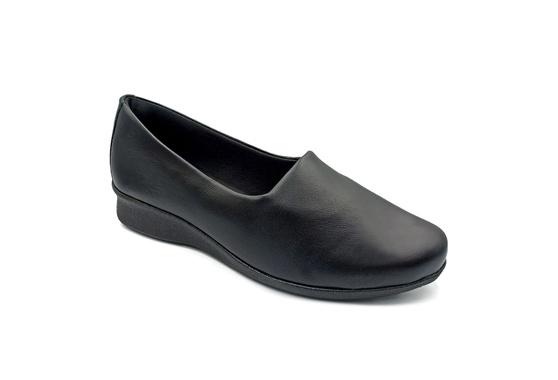 Sapato Feminino para Esporão e Fascite - Preto