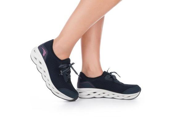 Tênis para Caminhada com Palmilha Massageadora - Marinho
