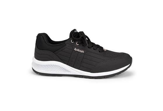 Tênis para Caminhada com Palmilha Massageadora - Preto