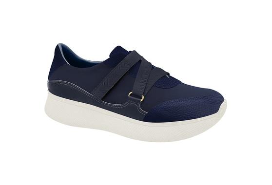 Sneaker para Esporão e Fascite - Azul com Velcro