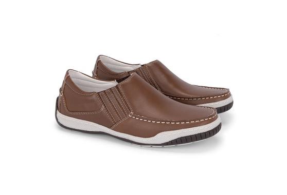 Sapato Mocassim Masculino - Pinhão