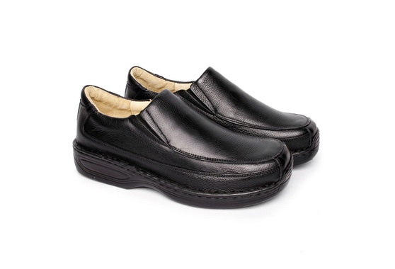Sapato Preto Masculino Anti Stress