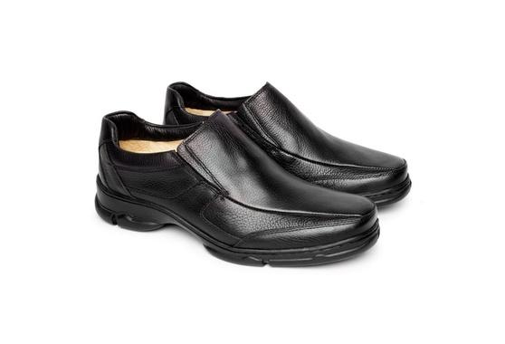 Sapato Masculino Couro - Preto