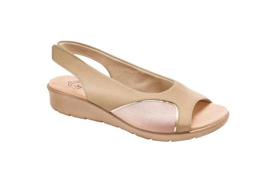 e1fcf907b Sandália para Joanete - Light Tan | Pé Relax Sapatos Confortáveis