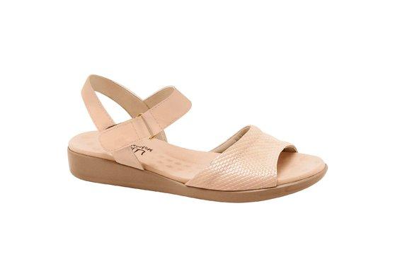1168454c2 Sandália Feminina Anatômica - Bege | Pé Relax Sapatos Confortáveis