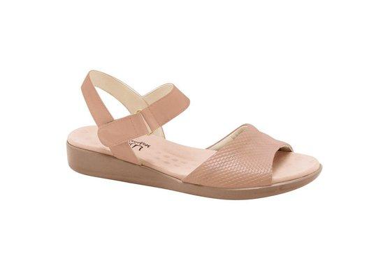 ef6c02034 Sandália Feminina Anatômica - Marrom | Pé Relax Sapatos Confortáveis