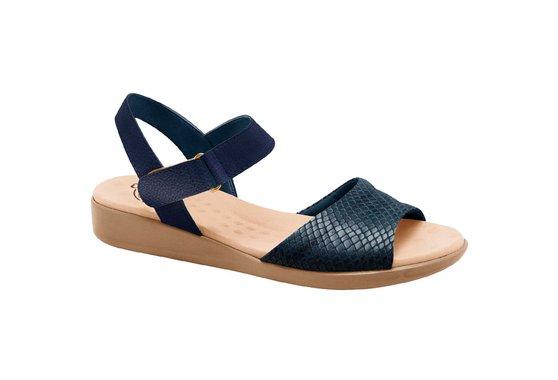 Sandália Anatômica Confort - Snake Azul
