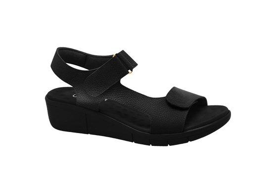 Sandália para Pés Inchados - Preta