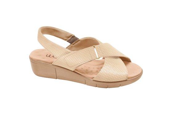bb2a5c99c Sandália Ortopédica Feminina - Light Tan | Pé Relax Sapatos Confortáveis
