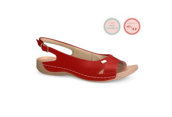 Sandália Especial para Joanete - Vermelha